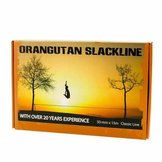 Vaikščiojimo (balansavimo) juosta Orangutan Slackline - 15M - 50MM nuo