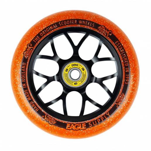 2 X Eagle Supply Standard X6 Core Candy (Black/Orange) 110 - Riteņi