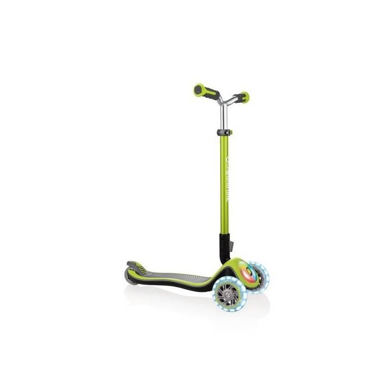 Globber Elite Prime / Lime Green - Skrejriteņi ar trīs riteņiem