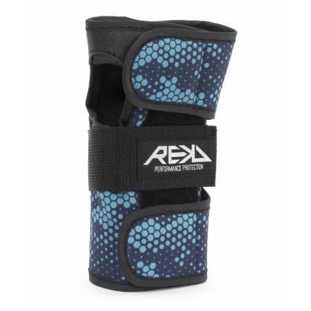 Riešų apsaugos REKD Wrist guard (Black/Blue) / SMALL nuo REKD