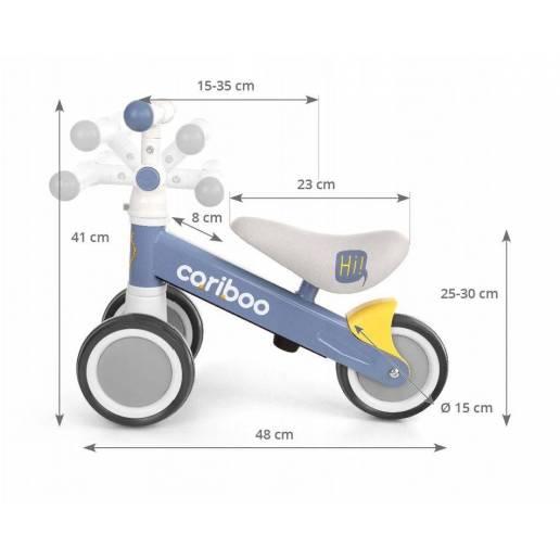 Stumdukas - triratukas Cariboo Friends (Mint) / balansinis dviratukas - Līdzsvara velosipēdi