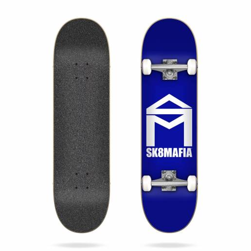 Sk8mafia House Logo Blue 7.87″ riedlentė nuo SK8MAFIA skateboards