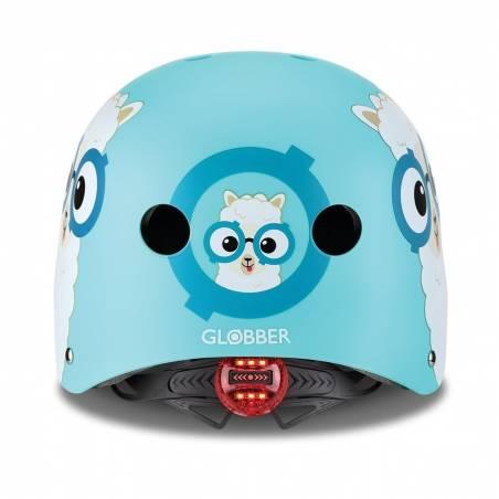 Vaikiškas šalmas Globber Elite Lights XS / S Poolside Blue Buddy 2021 nuo Globber