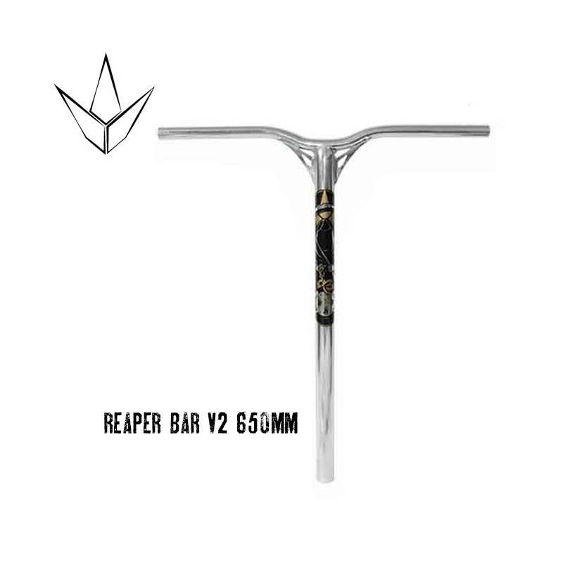 Blunt Reaper bar V2 600mm - Polished - Stūres