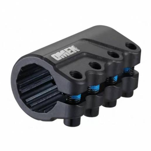 SCS BLUNT Omen 4 bolt clamp Black - Stūres savilcēji (Clamps)