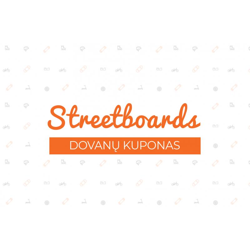 50€ dovanų kuponas nuo Streetboards