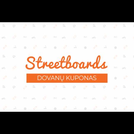 100€ dovanų kuponas nuo Streetboards
