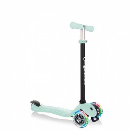 Globber GO-UP Sporty Lights / Mint 2021 - Skrejriteņi ar trīs riteņiem