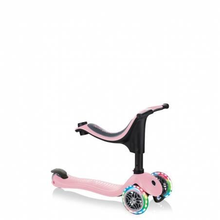 Globber GO-UP Sporty Lights / Pastel Pink 2021 nuo Globber