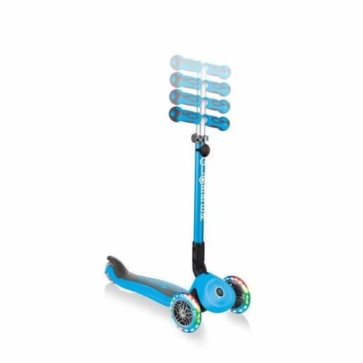 Globber GO-UP Deluxe Lights / Sky blue (5 in 1) 2021 nuo Globber