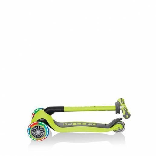 Globber GO-UP Deluxe Lights / Lime green (5 in 1) 2021 nuo Globber