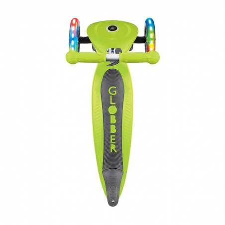 Paspirtukas Globber Primo Foldable lights / Lime green nuo Globber