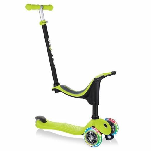 Globber GO-UP Sporty Lights / Lime Green 2021 nuo Globber