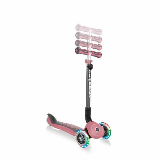 Globber GO-UP Deluxe Lights / Deep Pastel Pink (5 in 1) 2021 nuo Globber