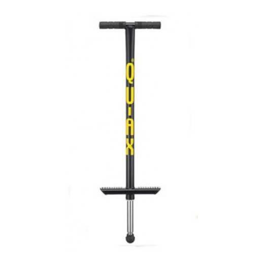 QU-AX šokinėjimo lazda paaugliams ir suaugusiems V200 Pogo stick (Black) iki 80 kg nuo Qu-Ax