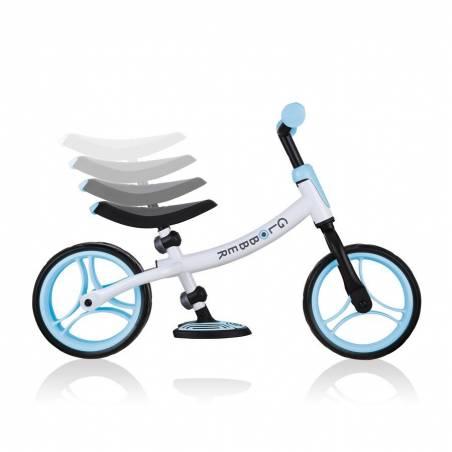 Balansinis dviratukas Globber Go Bike Duo (Pastel Blue) 2021 nuo Globber