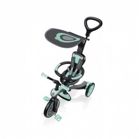 Paspirtukas - triratukas Globber Explorer Trike Mint (4 in 1) nuo Globber