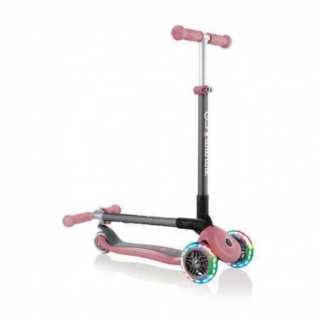 Paspirtukas Globber Primo Foldable lights / Pastel Pink nuo Globber