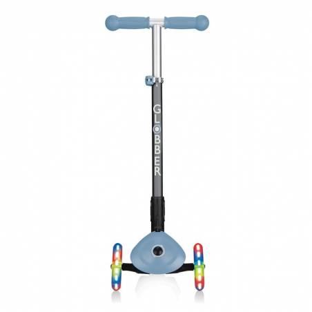 Globber Primo Foldable lights / Ash Blue - Skrejriteņi ar trīs riteņiem