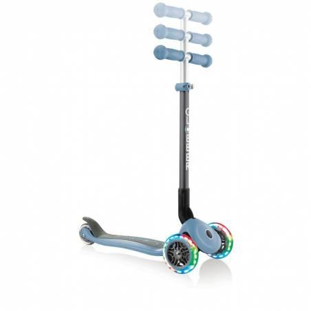 Paspirtukas Globber Primo Foldable lights / Ash Blue nuo Globber