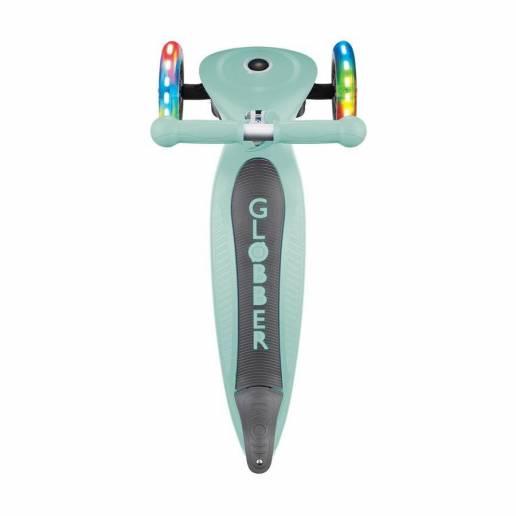 Paspirtukas Globber Primo Foldable lights / Mint nuo Globber