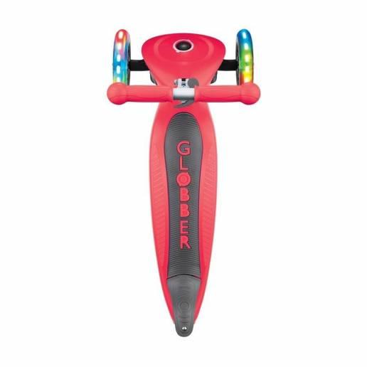 Globber Primo Foldable lights / New red - Skrejriteņi ar trīs riteņiem