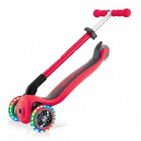 Paspirtukas Globber Primo Foldable lights / New Red nuo Globber
