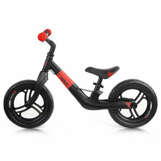 Movino Magnesium Pro Black Red - Līdzsvara velosipēdi
