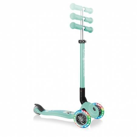 Globber Primo Foldable Lights / Mint Lama - Skrejriteņi ar trīs riteņiem