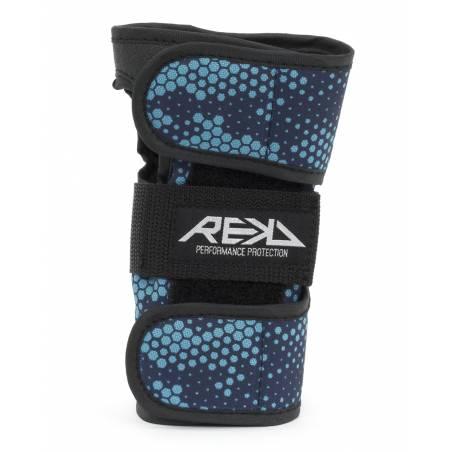 REKD Wrist guard (Black/Blue) / Medium - Aizsargi