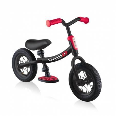 Globber Go Bike Air (Black Red) 2021 - Līdzsvara velosipēdi