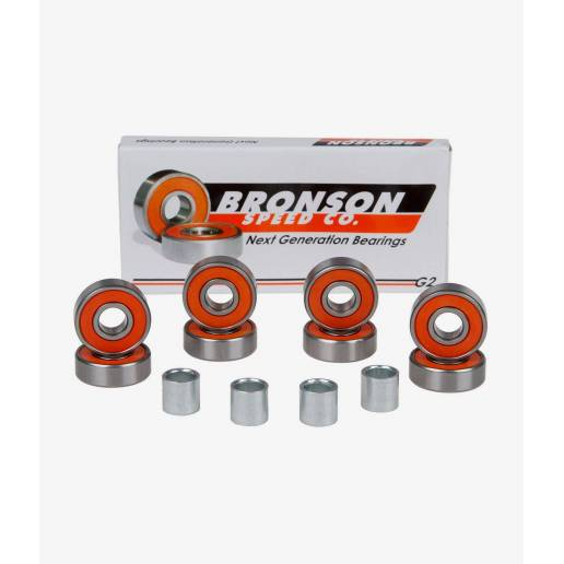 Guoliai Bronson Speed Co. 8 Bearing G2 (8 vnt.) nuo Bronson speed co.
