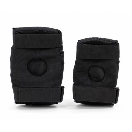 Kelių ir alkūnių apsaugos REKD Youth Heavy duty Black/Black L nuo REKD