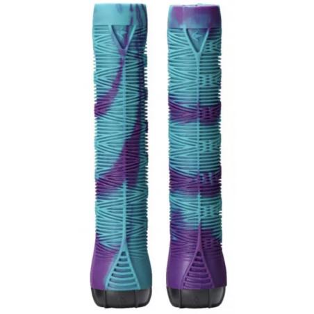 BLUNT HAND GRIP V2 Teal / Purple - Rokturi (Grips)