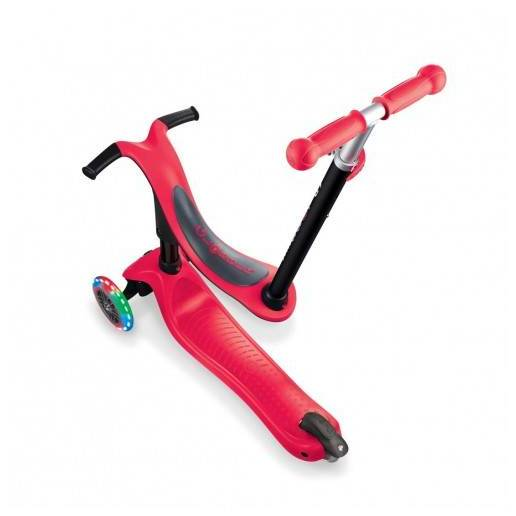 Globber GO-UP Sporty Lights / New Red 2021 nuo Globber