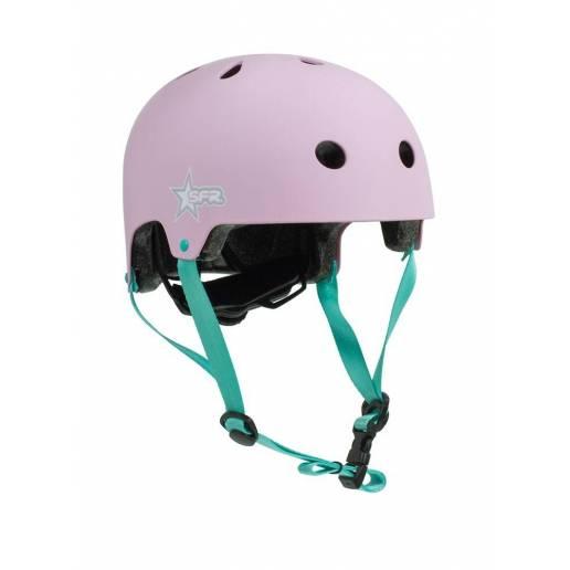 Šalmas SFR Kids Pink/Green XXXS/XS nuo SFR