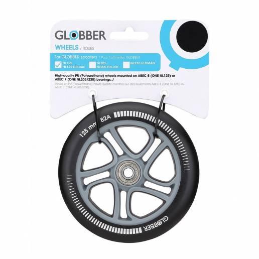 Paspirtuko ratas Globber 125 mm su guoliais nuo Globber