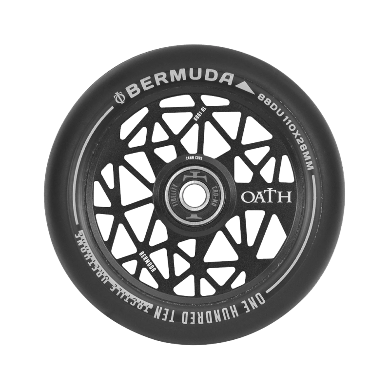 2 vnt. x Oath Bermuda Satin Black 110 nuo Oath