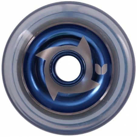 2 X Blazer Shuriken Blue Hub Clear Blue 100 MM - Riteņi