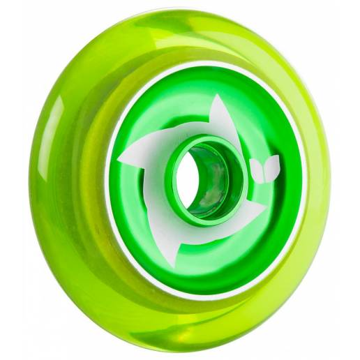 2 X Blazer Pro Shuriken Green Hub Clear Green 100 MM - Riteņi