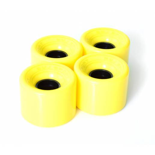 Cruizer Wheels 4 pack / yellow - Longboards