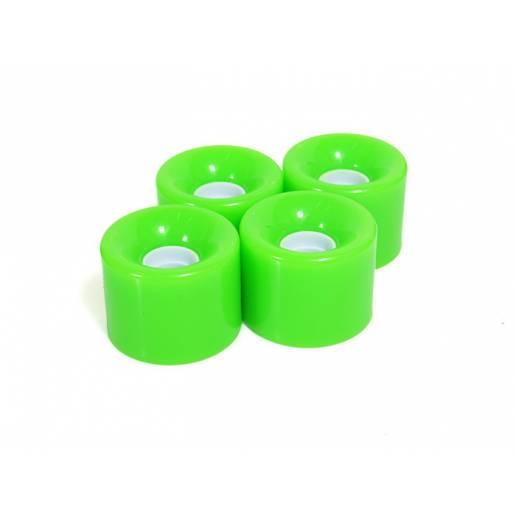 Kruīza riteņu komplekts / green - Longboards
