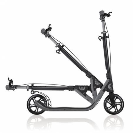Globber 205 Deluxe Titanium/Charcoal Grey