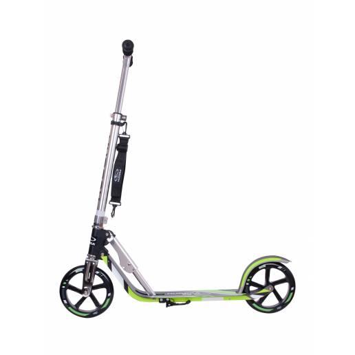 Hudora Big Wheel 205 Grey/Green - Pilsetas skrejriteņi