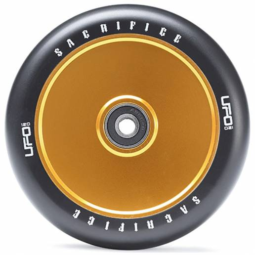 Sacrifice UFO 120 (w/Bearings) Black/Gold 120 MM