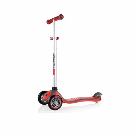 Globber Ferrari / Red - Skrejriteņi ar trīs riteņiem