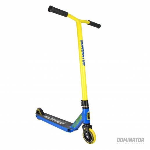 Dominator Ranger Complete Scooter - Yellow / Blue 100