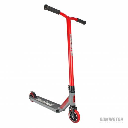 Dominator Ranger Complete Scooter - Red / Grey 100