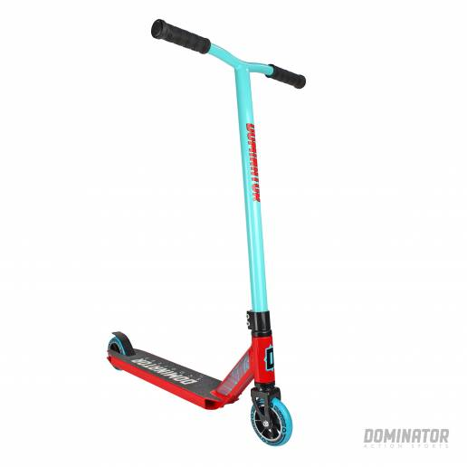 Dominator Ranger Complete Scooter - Turquoise / Red 100