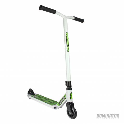 Dominator Cadet Complete Scooter - White / White 100